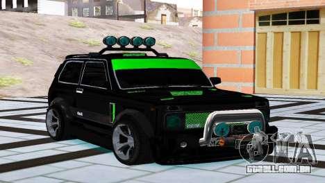 VAZ 21213 Niva 4x4 Tuning para GTA San Andreas