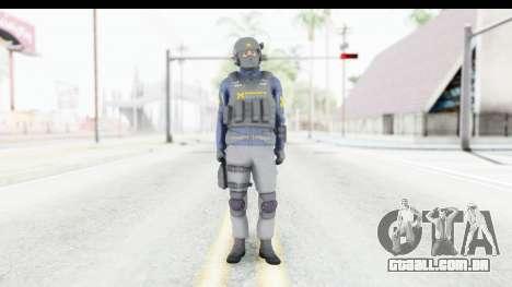 Quantum Break Monarch Operators para GTA San Andreas segunda tela