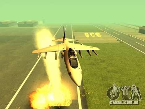 A adição de armas para o ar técnica para GTA San Andreas segunda tela