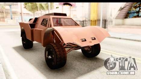 GTA 5 Desert Raid SA Lights PJ para GTA San Andreas vista direita