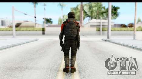 Homefront The Revolution - KPA v3 Camo para GTA San Andreas terceira tela