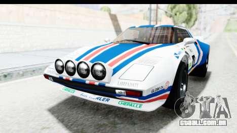 GTA 5 Lampadati Tropos IVF para o motor de GTA San Andreas