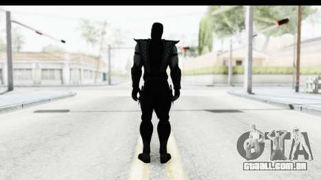 Mortal Kombat vs DC Universe - Noob Saibot para GTA San Andreas terceira tela