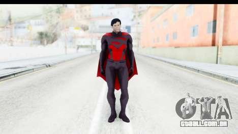 Injustice Gods Among - Superman Earth 2 para GTA San Andreas segunda tela