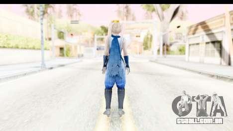 DoA 5: LR - Marie Rose Ninja para GTA San Andreas terceira tela
