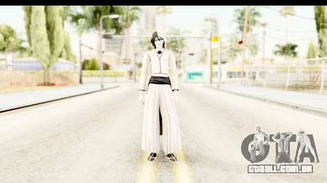 Bleach - Ulquiorra para GTA San Andreas segunda tela