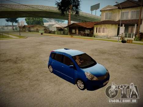 Nissan Note 2008 para GTA San Andreas