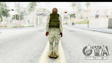 Global Warfare Arab para GTA San Andreas terceira tela