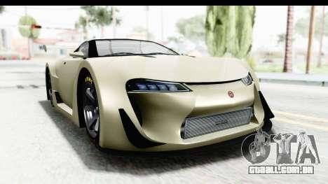 GTA 5 Emperor ETR1 IVF para GTA San Andreas