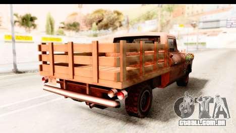 Walton Sticker Bomb para GTA San Andreas esquerda vista