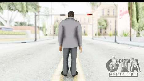Yakuza 5 Kazuma Kiryu Fukuoka para GTA San Andreas terceira tela