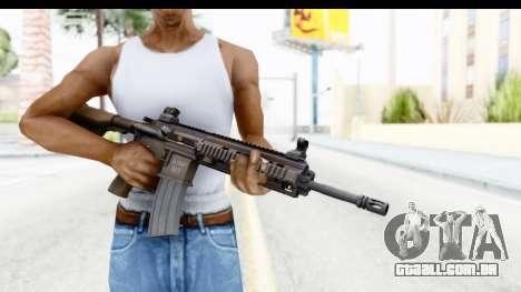 Heckler & Koch HK416 para GTA San Andreas terceira tela