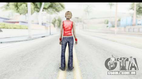 Silent Hill 3 - Heather Sporty Red Duff Beer para GTA San Andreas terceira tela