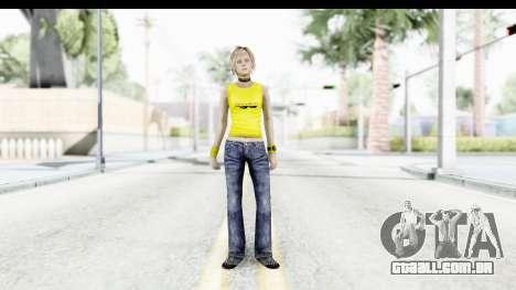 Silent Hill 3 - Heather Sporty Yellow Glasses para GTA San Andreas segunda tela