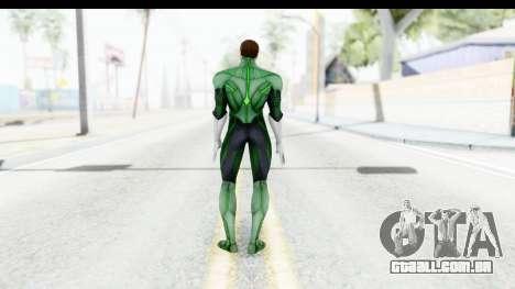Injustice God Among Us - Green Lantern para GTA San Andreas terceira tela