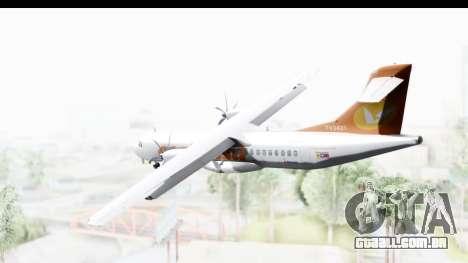 ATR 72-500 ConViasa para GTA San Andreas vista direita