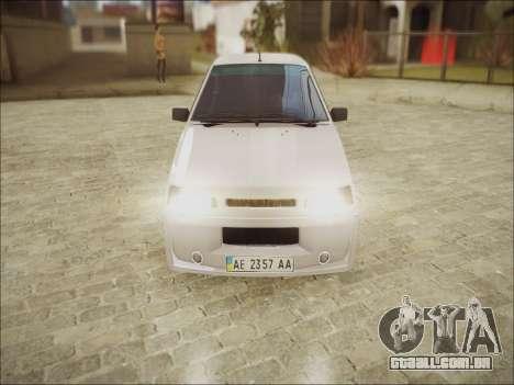VAZ 21099 Kolxz para GTA San Andreas esquerda vista