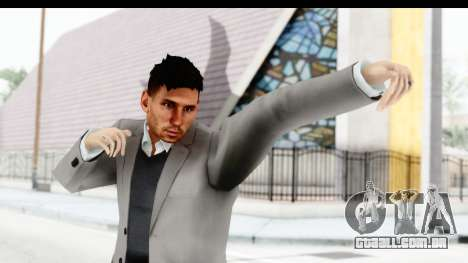 Messi Formal para GTA San Andreas