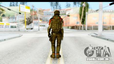 Homefront The Revolution - KPA v1 Captain para GTA San Andreas terceira tela