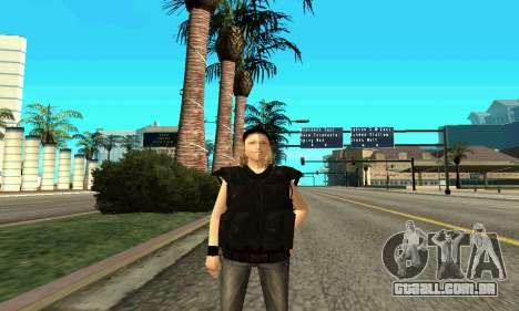 Feminino instrutor da SWAT para GTA San Andreas