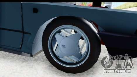 Fiat 147 para GTA San Andreas vista traseira