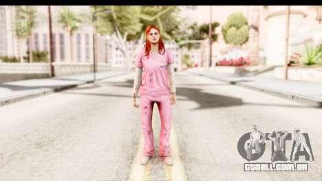 Silent Hill Shattered Memories - Lisa Garland para GTA San Andreas segunda tela