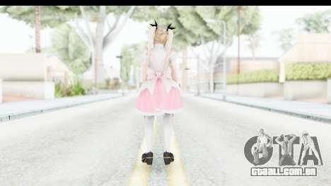 DoA 5: LR - Marie Rose Maid Remade para GTA San Andreas terceira tela