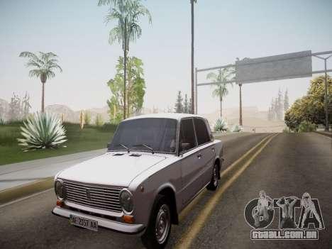 VAZ 21013 para GTA San Andreas vista traseira