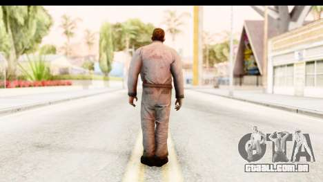 Left 4 Dead 2 - Zombie Worker para GTA San Andreas terceira tela