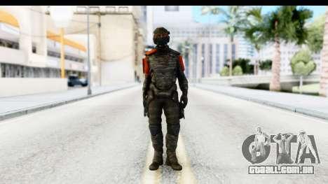 Homefront The Revolution - KPA v3 Camo para GTA San Andreas segunda tela