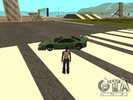 Cars spawn para GTA San Andreas por diante tela