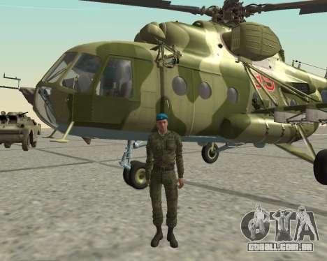 Pak combatentes aéreos para GTA San Andreas sexta tela