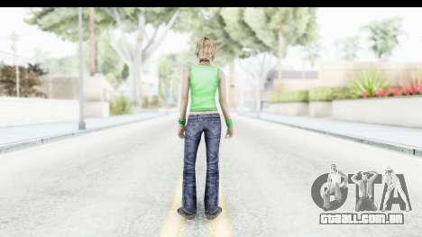 Silent Hill 3 - Heather Sporty Green Evolution para GTA San Andreas terceira tela
