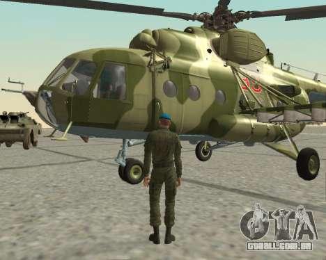 Pak combatentes aéreos para GTA San Andreas sétima tela