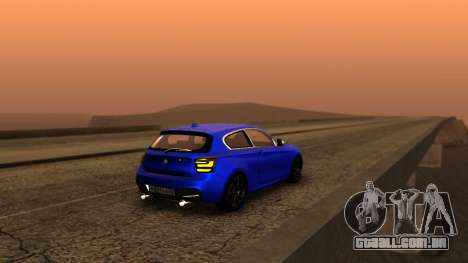 BMW M135i ISlaite Edition para GTA San Andreas esquerda vista