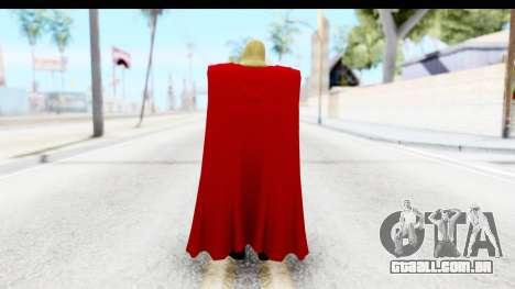 Marvel Heroes - Thor (The Avengers) para GTA San Andreas terceira tela