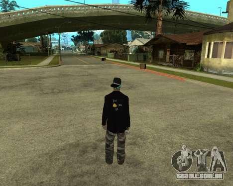 Armenian Skin para GTA San Andreas segunda tela