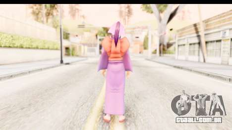 Kamiya v1 para GTA San Andreas terceira tela