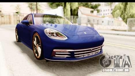 Porsche Panamera 4S 2017 v4 para GTA San Andreas vista direita