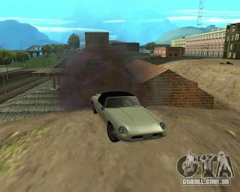 Nova garagem Arménia para GTA San Andreas oitavo tela