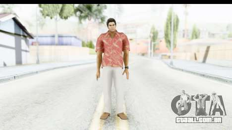 Yakuza 5 Kazuma Kiryu Okinawa para GTA San Andreas segunda tela