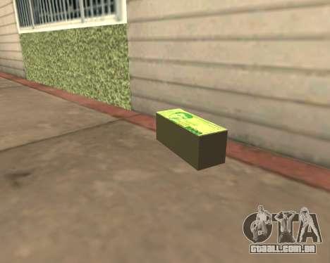 1000 Armenian Dram para GTA San Andreas terceira tela