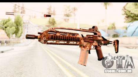 SCAR-LK Hex Camo Tan para GTA San Andreas