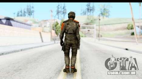 Homefront The Revolution - KPA v4 Camo para GTA San Andreas terceira tela