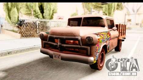 Walton Sticker Bomb para GTA San Andreas vista direita