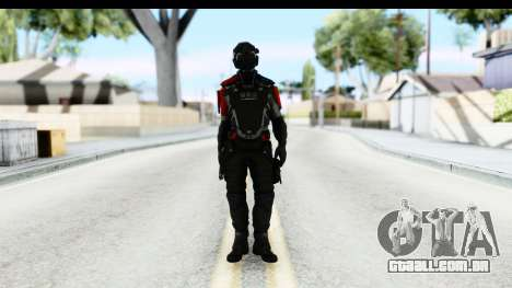 Homefront The Revolution - KPA v1 Captain para GTA San Andreas segunda tela
