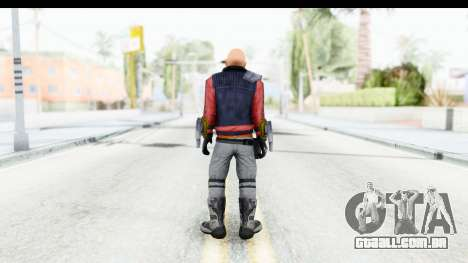 Deadshot (Will Smith) para GTA San Andreas terceira tela