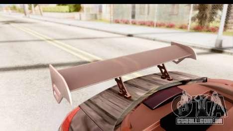 Renault Megane Spyder Full Tuning v2 para GTA San Andreas vista superior