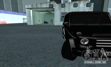 Mercedes-Benz G55 para GTA San Andreas vista interior