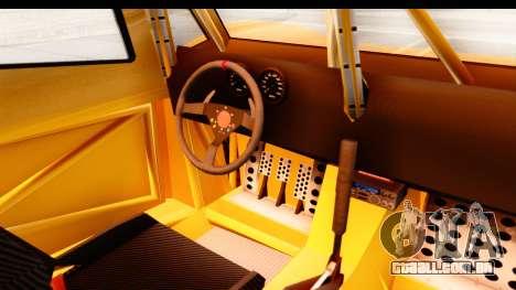 GTA 5 Desert Raid IVF PJ para GTA San Andreas vista interior